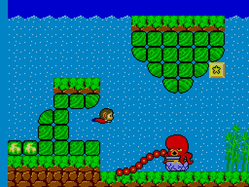 Retro Test : Alex Kidd in Miracle World