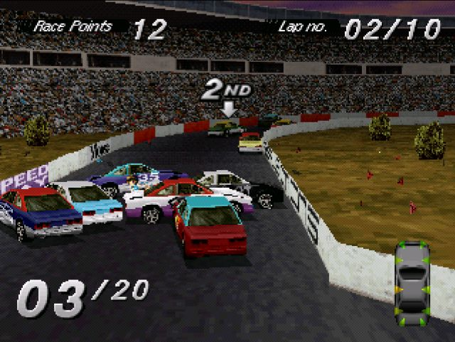 [RETRO TEST] Destruction Derby