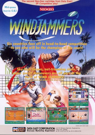 [RETRO TEST] Windjammers / Flying Power Disc