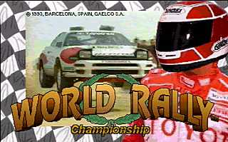 [RETRO TEST] World Rally Championship