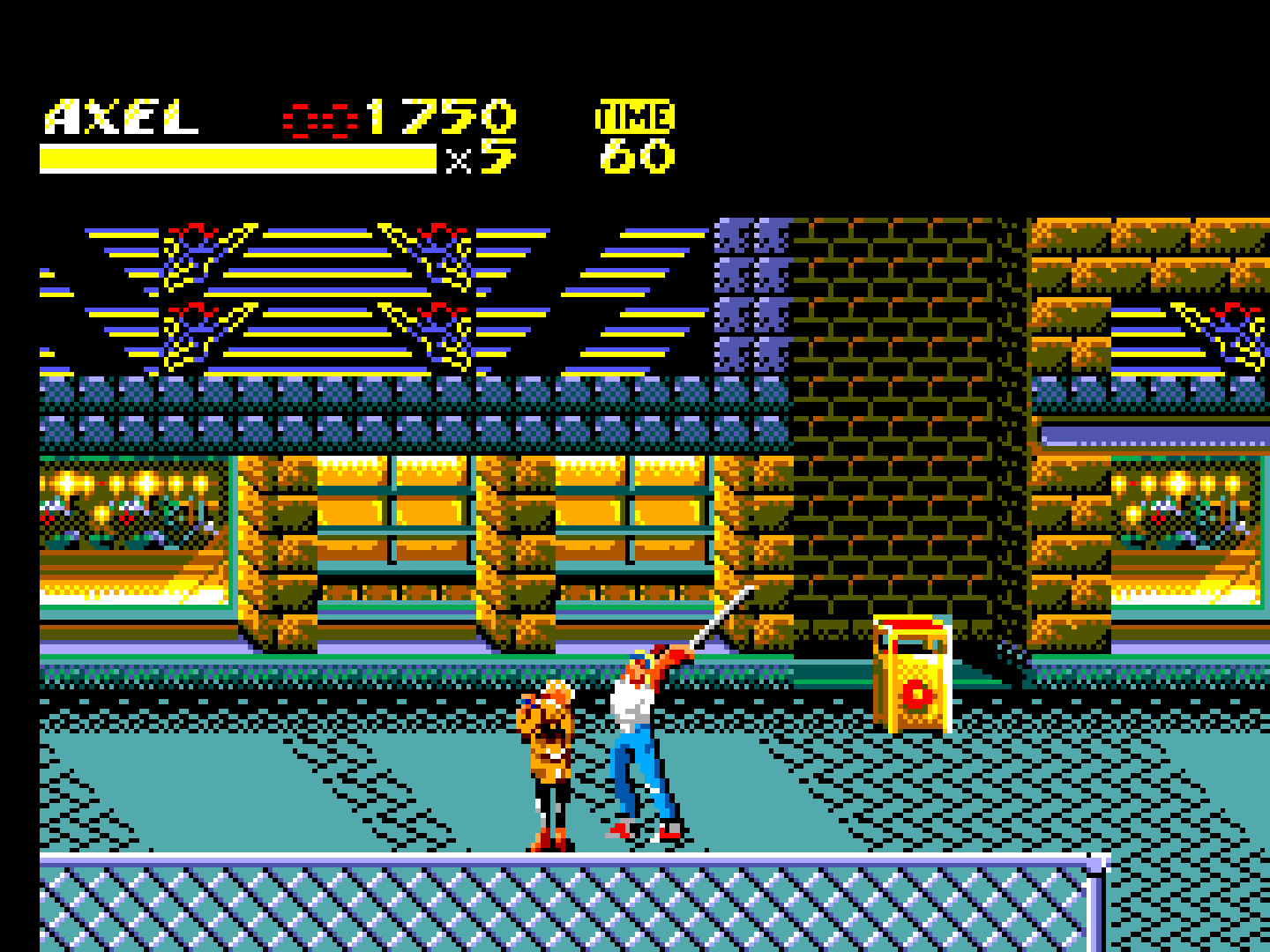 Streets of Rage II (Europe)-190425-164744
