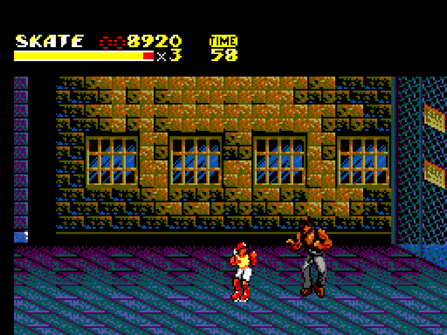 Streets of Rage II (Europe)-190425-165801